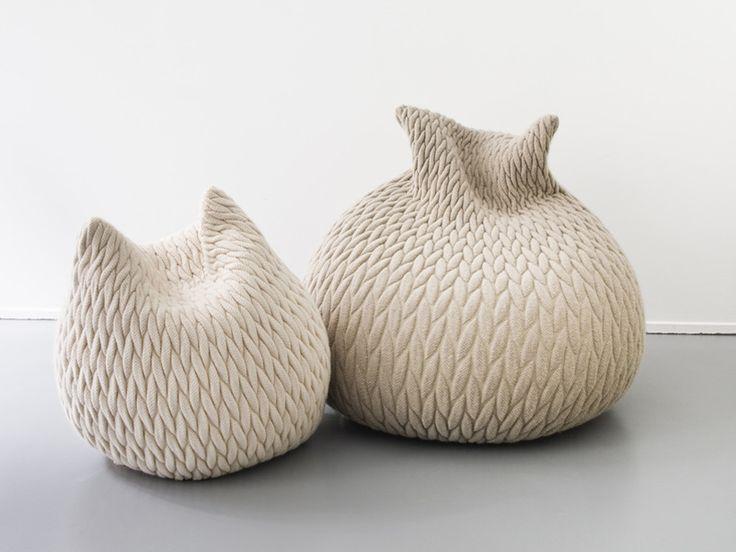 Pouf SLUMBER Slumber Collection by Casalis | design Aleksandra Gaca