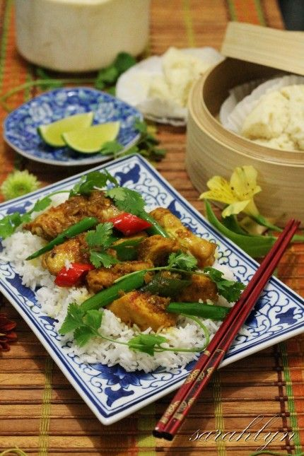 Spicy Lemongrass Chicken with Coconut Juice Recipe on Best Home Chef ...