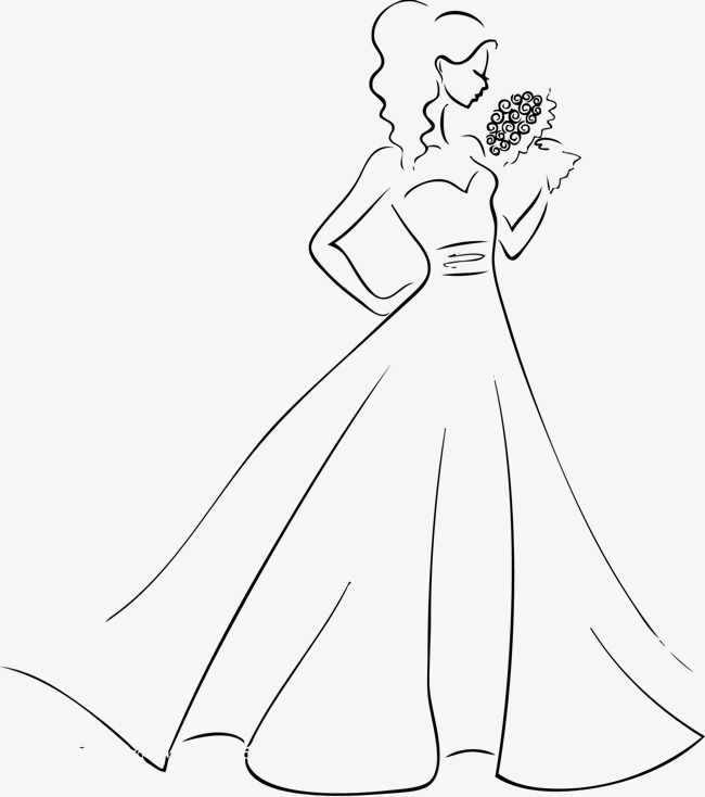 جيد ارتداء العروس زفاف ناقلات العروس المتجه فستان الزفاف Png وملف Psd للتحميل مجانا Dress Vector Best Wear Bride Clipart