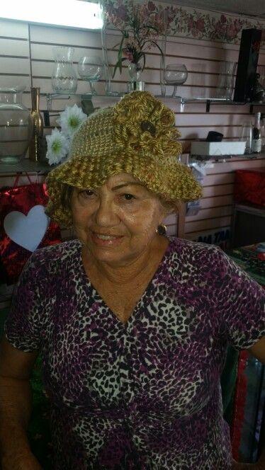 Gorra tejida/crochet hat