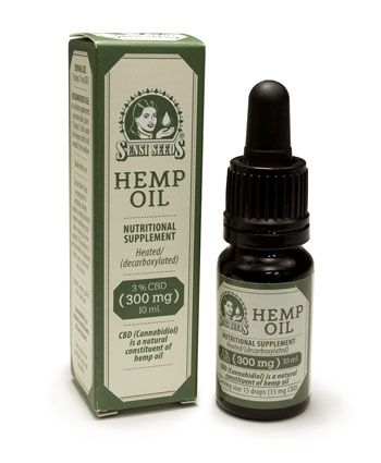 Buy Sensi Seeds Hemp 3% CBD oil online - Sensi Seeds UK