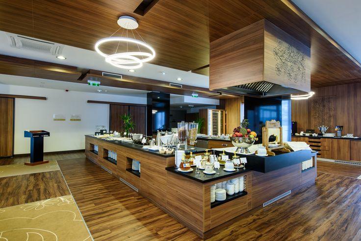Breakfast buffet of Mikszath Restaurant