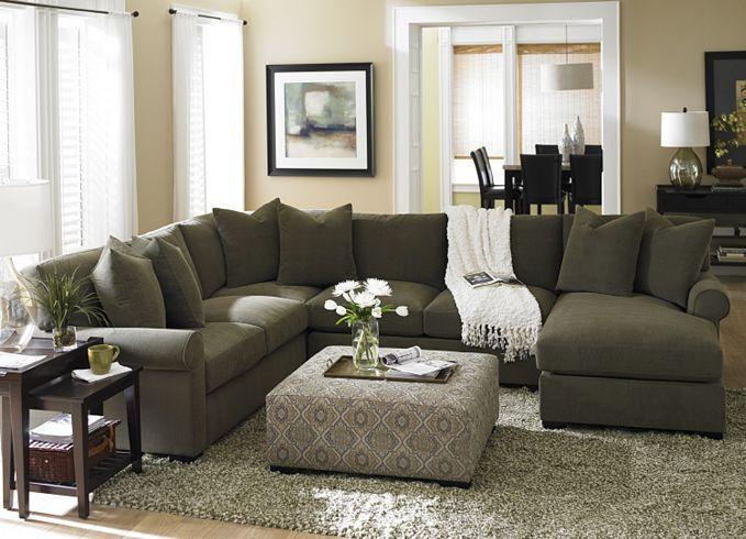Living Room Furniture, Indulgence Sectional, Living Room Furniture   Havertys Furniture