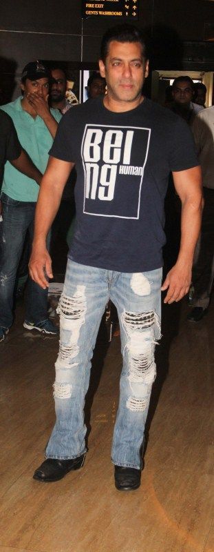 Bollywood actor Salman Khan during the announcement of the association with Being Human Foundation and PVR Cinemas, in Mumbai on June 23, 2017.