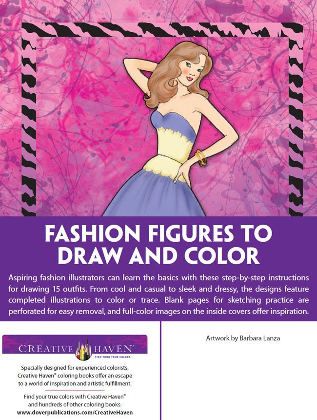 Welcome To Dover Publications: 2461 Best Images About Fashion Coloring On Pinterest