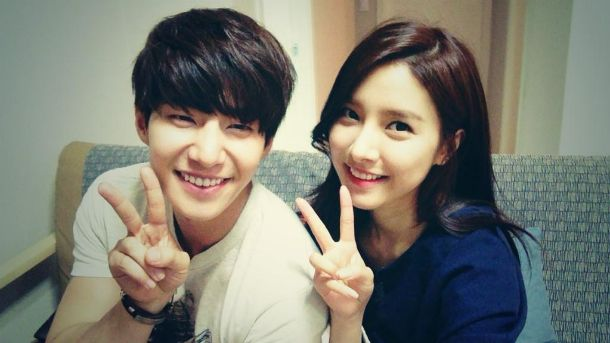 Song Jae Rim with Kim So Eun.. <3