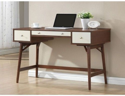 Acme Furniture Daniel Collection Walnut & Cream Desk 92140