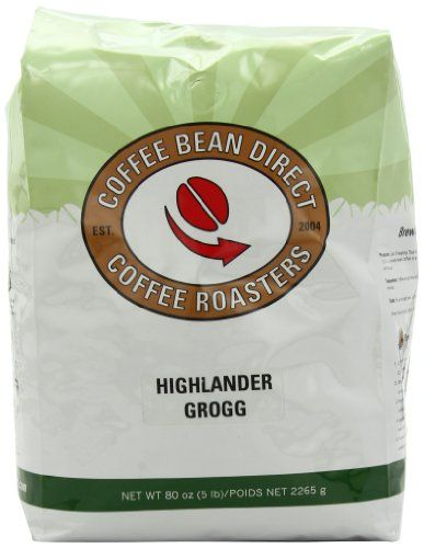 Coffee Bean Direct Highlander Grogg Flavored, Whole Bean Coffee, 5-Pound Bag - http://www.freeshippingcoffee.com/brands/coffee-bean-direct/coffee-bean-direct-highlander-grogg-flavored-whole-bean-coffee-5-pound-bag-2/ - #CoffeeBeanDirect