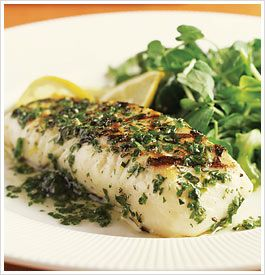 parchment baked halibut - eat clean recipe
