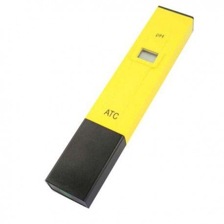 Digital Ph-tester med LCD display Ph-tester til brug i akvariet, madlavning, vinfremstilling og mange andre muligheder Med denne super simple Ph-tester kan du nemt måle Ph-værdien i vand, vin, øl og mange andre ting  Denne måler kan måle følgende:  Måleinterval: 0.1 Ph Nøjagtighed: ± 0,1 pH (20 ° C), ± 0,2 pH Driftstemperatur 0 - 50 ° C (32 - 122 ° F) Kalibrering: manual Vare Vægt: ca.. 57g (efter installeret batterier) Mål: 152 x 29 x 20mm
