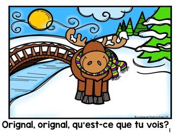 Hiver: Winter Themed Emergent Reader in French
