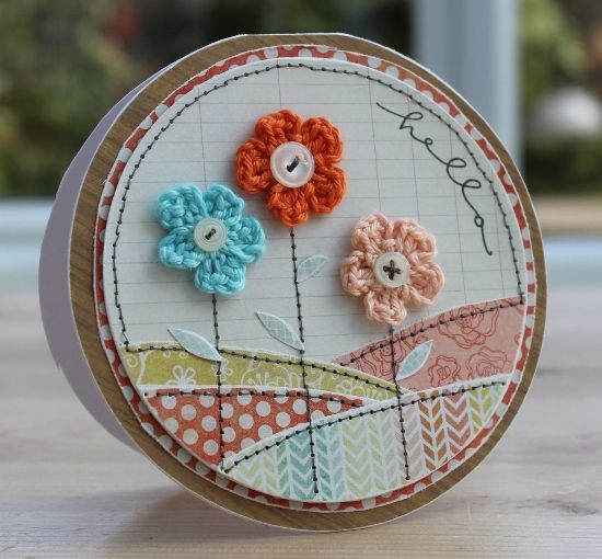Blush Crafts: Embroidery Hoop Art