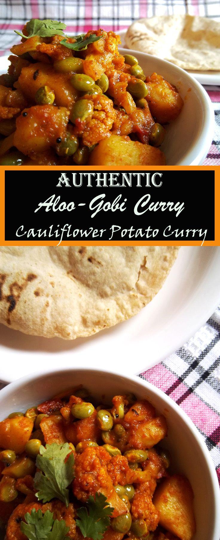 Authentic Aloo Gobi Curry | Cauliflower Potato Curry - Indian Recipe