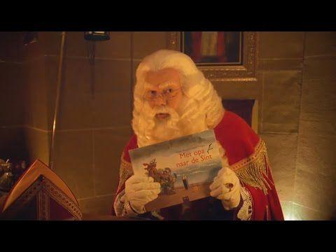 Sinterklaas leest voor uit het prentenboek 'Met opa naar de Sint' - YouTube