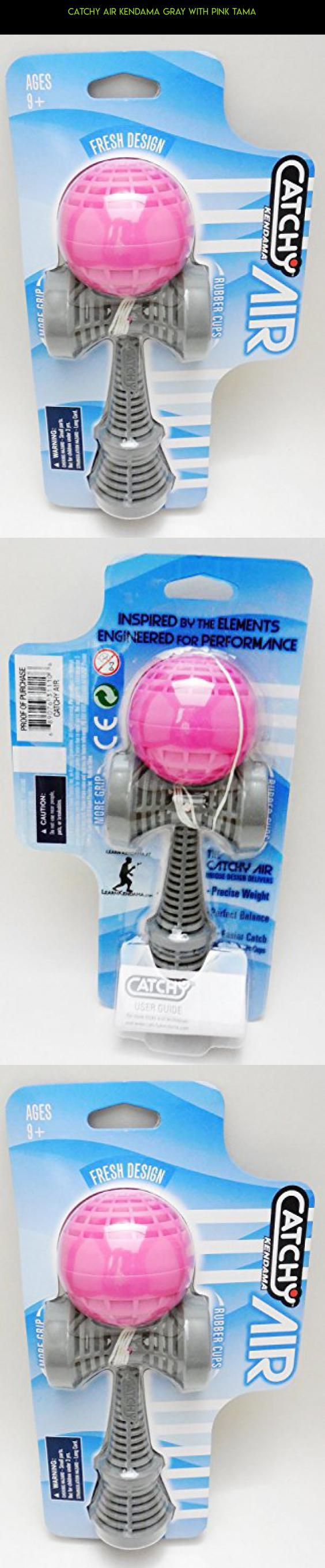 Catchy Air Kendama Gray with Pink Tama #fpv #parts #racing #tech #technology #shopping #drone #kit #gray #kendama #gadgets #camera #products #plans