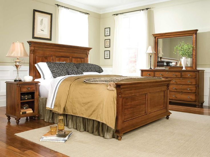 lane king bedroom set furniture row piece panel park for sale white lacquer