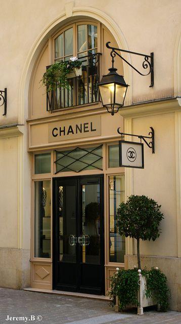 Chanel store in Paris - ASPEN CREEK TRAVEL - karen@aspencreektravel.com