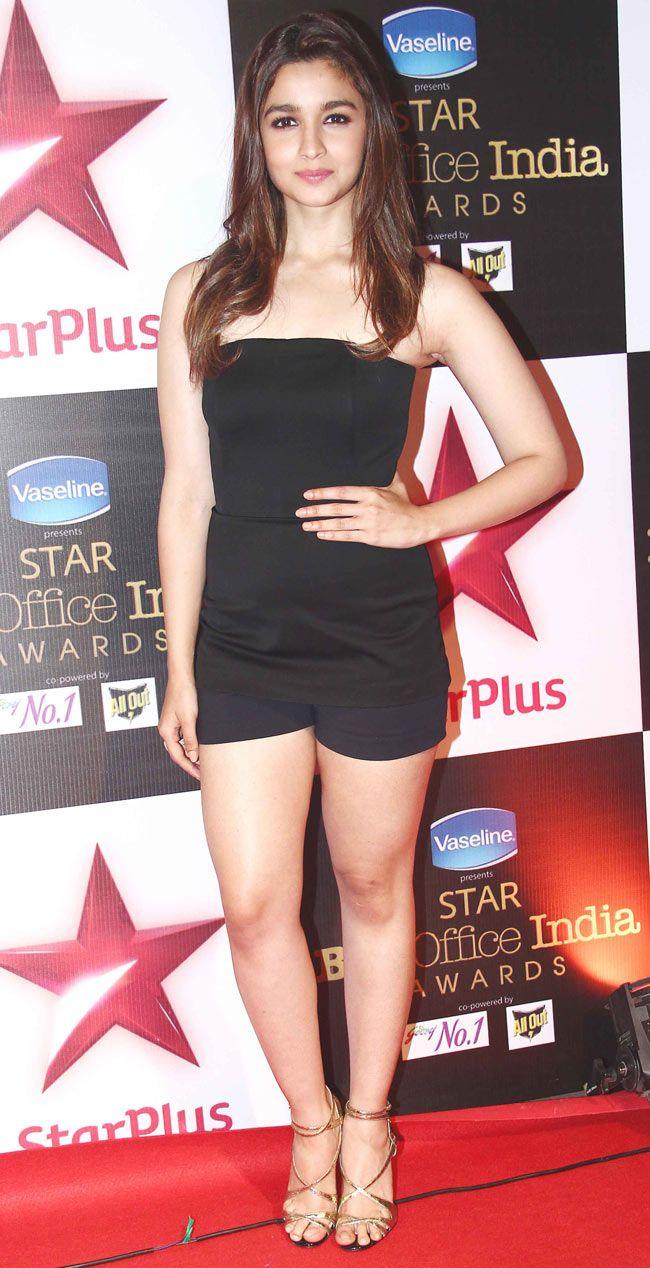 Alia Bhatt at STAR Box Office Awards.