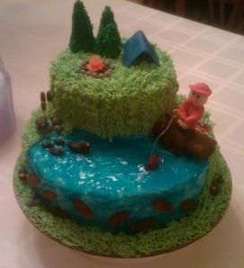 fishing cake | Cakes - Fish