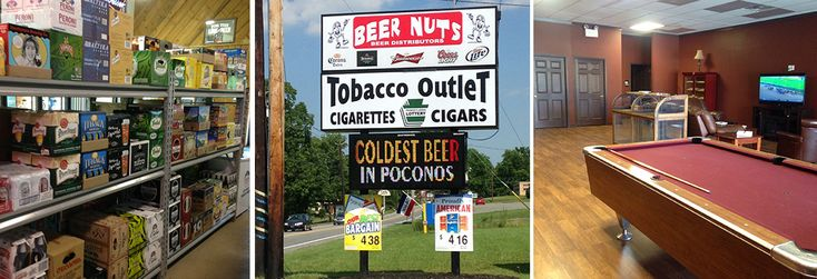 Beer Nuts Beer Distributor and Tobacco Outlet