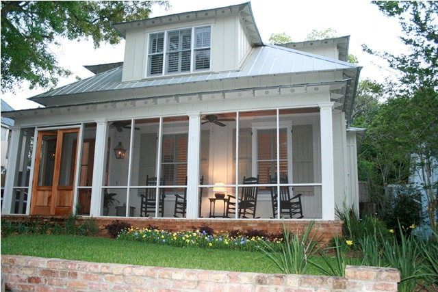 houses with screened front porch - Bing Images