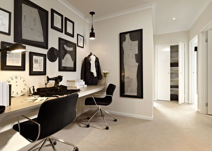 Carlisle Homes - Marlow 25 Study Nook