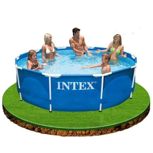 10-x-30-Metal-Frame-Swimming-Pool-For-The-Family-Great-Family-Fun-This-Summer
