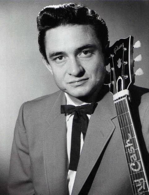 """Johnny Cash, Singer (1932-2003) *Age 71* """" I Walk the Line"""""""