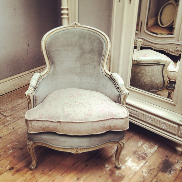 Multi Fabric French Vintage Chair
