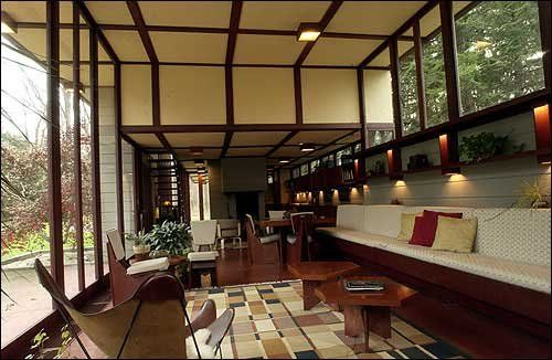 157 best flw images on pinterest frank lloyd wright architects and house design for Interior designers cleveland ohio