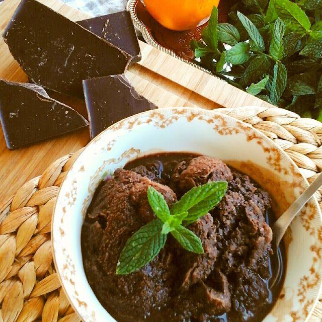 Βουτυρόμελο: Σορμπέτ σοκολάτας για ενηλίκους