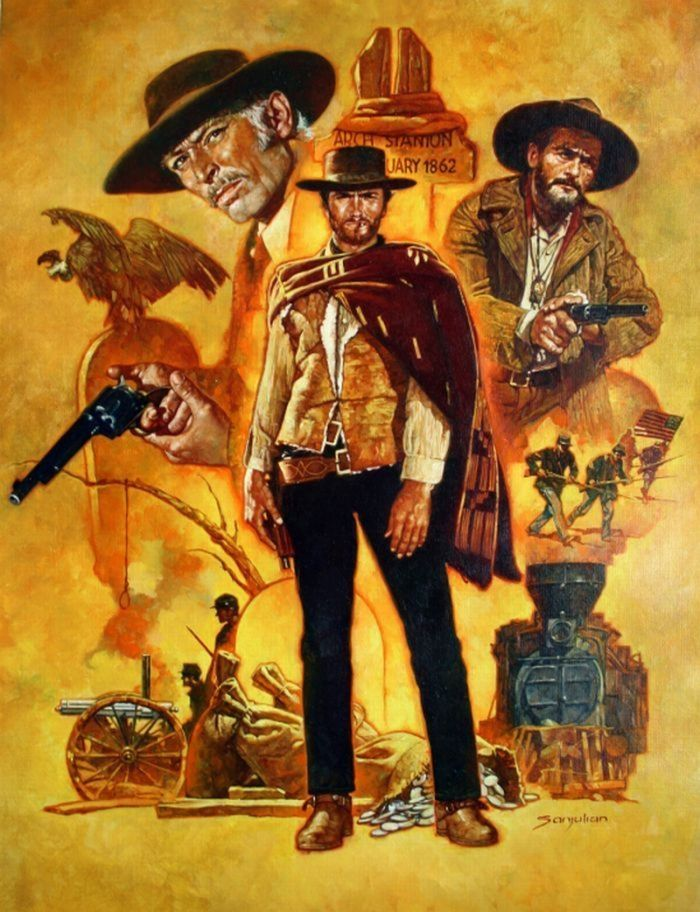 top sunglasses for men THE GOOD  THE BAD  AND THE UGLY  Sanjulian  Comic Art