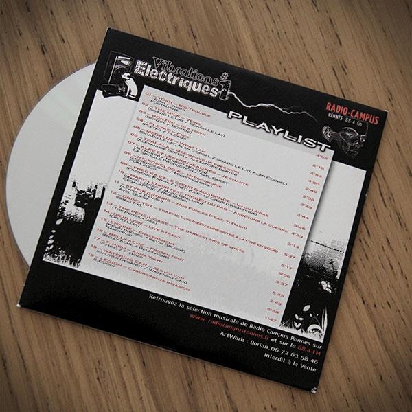 Vibrations Electriques n°1#CD #Graphisme #Print #Disque