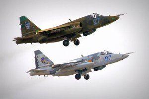 Украинские штурмовики Су-25 сбили не террористы, ракеты были выпущены из-за рубежа, - Информ-центр СНБО