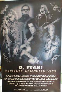 "Aerosmith ""O, Yeah! Ultimate Aerosmith Hits"" Promo Poster 36x24"