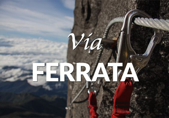 The world's highest Via Ferrata located in a UNESCO World Heritage site, Mt Kinabalu in Sabah, Malaysia.