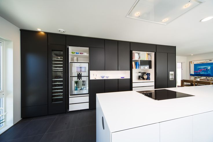 Boform Line kitchen. Appliances from Gaggenau. Kitchen top in Corian