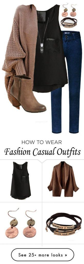 Elegant winter outfit ideas with jeans #WomenProfessionals