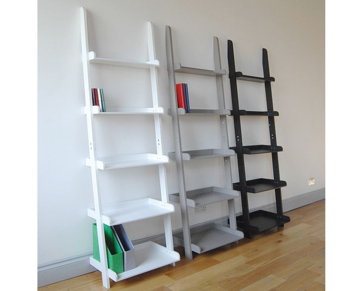 Painting Of Unique Ladder Shelving Unit Furniture