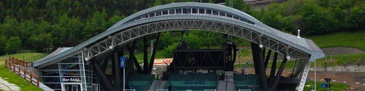 Nuove funivie SkyWay Monte Bianco   Stazione di valle   Proteo