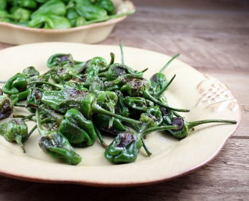 These Padron peppers literally melt in your mouth with a small amount of salty heat chasing a lingering pepper flavor.