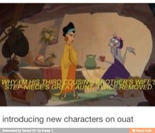Hahaha--Introducing new characters on Once Upon A Time