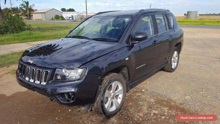 2014 JEEP COMPASS SPORTS MK SUV 2.0L 6SPD AUTO REPAIRABLE DAMAGED DRIVES #jeep #compass #forsale #australia