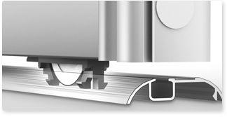Купить стальную систему профиля Люкс для шкафов купе Командор