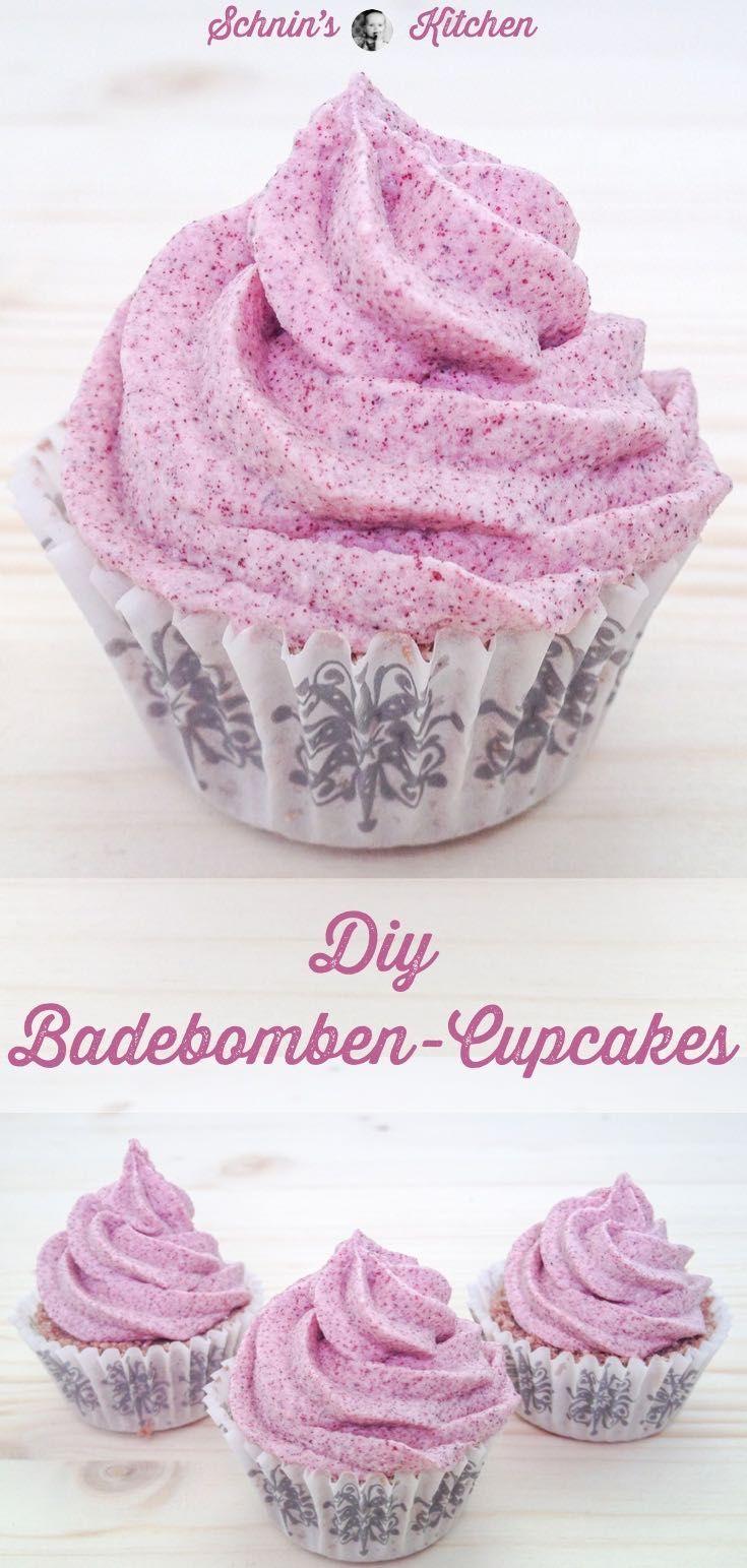 Badebomben-Cupcakes einfach selber machen