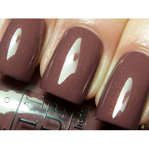 OPI wooden shoe like to know - seriously loving this colour for fall