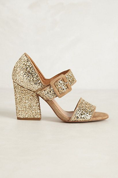the perfect holiday shoe with just enough heel
