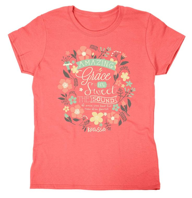Grace Christian T-Shirt - Missy - Free U.S. Shipping from Clothed with Truth