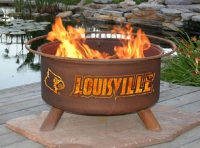 The Fire Pit Store - Patina Products - University of Louisville College Fire Pit - F224, $249.99 (http://www.thefirepitstore.com/patina-products-university-of-louisville-college-fire-pit-f224/)