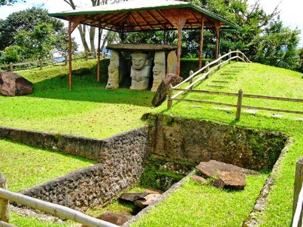 Colombia - San Agustín Parque Arqueológico, Huila.